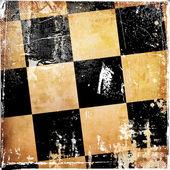 Grunge chess background — Stock Photo