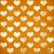 Grunge love pattern — Stock Photo