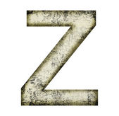 Grunge letter z — Stock Photo