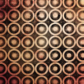 Grunge circles mosaic background — Stock Photo