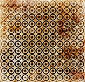 Grunge circles mosaic background — Zdjęcie stockowe