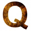 Letter q — Stock Photo #28114461