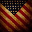 Stock Photo: Grunge flag of USA background