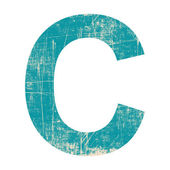 Alfabet c — Stockfoto
