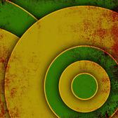 Grunge tmavé pozadí s kruhy — Stock fotografie