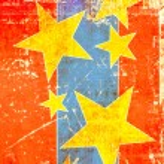 Grunge stars background — Stock Photo #28206417