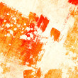 Grunge orange background — Stock Photo