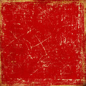 Bright red grunge texture — Stock Photo