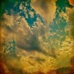 Blue sky grunge background — Stock Photo #28235015