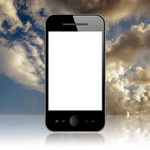 Mobile phone — Stockfoto