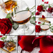 Cognac collage — Stock Photo #29207377