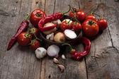 Verduras vintage — Foto de Stock