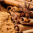 Stock Photo: Cinnamon and anise