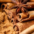 Cinnamon and anise — Stock Photo #29940531