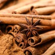 Cinnamon and anise — Stock Photo #29940533