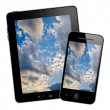 Tablet pc and mobile phone — Stock Photo #30273963