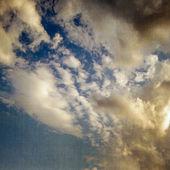 Günbatımı gökyüzü arka plan — Stok fotoğraf