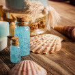 Stock Photo: Vintage spa still life