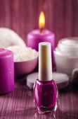 Purple spa — Stock Photo