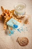 Spa still life with starfish — Stock Photo