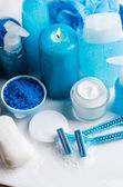 Blue spa — Stock Photo