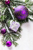 Christmas background — Stock fotografie