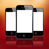 Mobile phones — Stockfoto