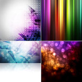 Background set — Stock Photo