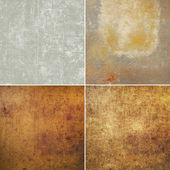 Grunge wall set — Stock Photo