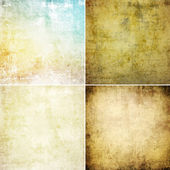 Grunge wall set — Foto de Stock