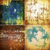 Grunge wall set — Zdjęcie stockowe