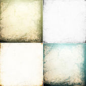 Set of grunge wall — Stockfoto