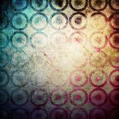 Cerchi grunge — Foto Stock