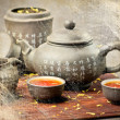 Tea on table — Stockfoto