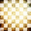 Stock Photo: Grunge chessboard