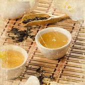 Sztuka herbaty — Zdjęcie stockowe