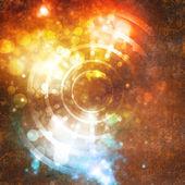 円の背景 — ストック写真