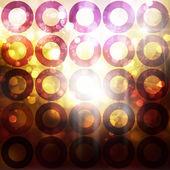 Fundo de círculos — Foto Stock