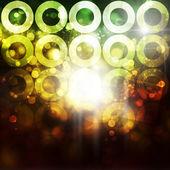 Fond de cercles — Photo