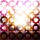 Cerchi sfondo — Foto Stock