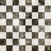 Grunge chessboard — Stock Photo