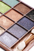 Eye shadow palette — Stock Photo
