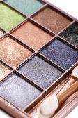 Palette ombretti — Foto Stock