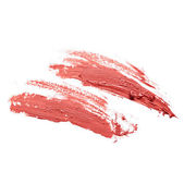 Smudged lipstick — Stock Photo