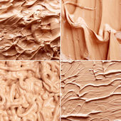 Tone foundation texture — Stock Photo