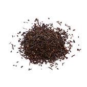 Leaves of black tea — Stock Photo