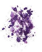 Purple eye shadow — Stock Photo