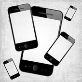 Mobiele telefoons — Stockfoto