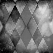 Gray rhombus background — Stock Photo