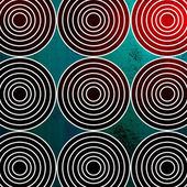 Background with circles — Stockfoto